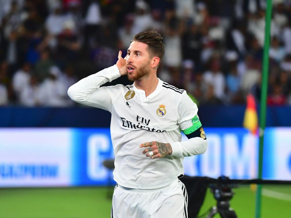 Bringt Real in Führung: Kapitän Sergio Ramos