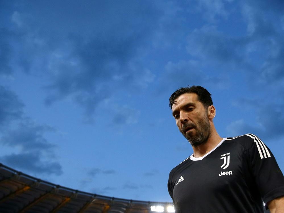 Buffon litt während der Zeit in Turin unter Depressionen