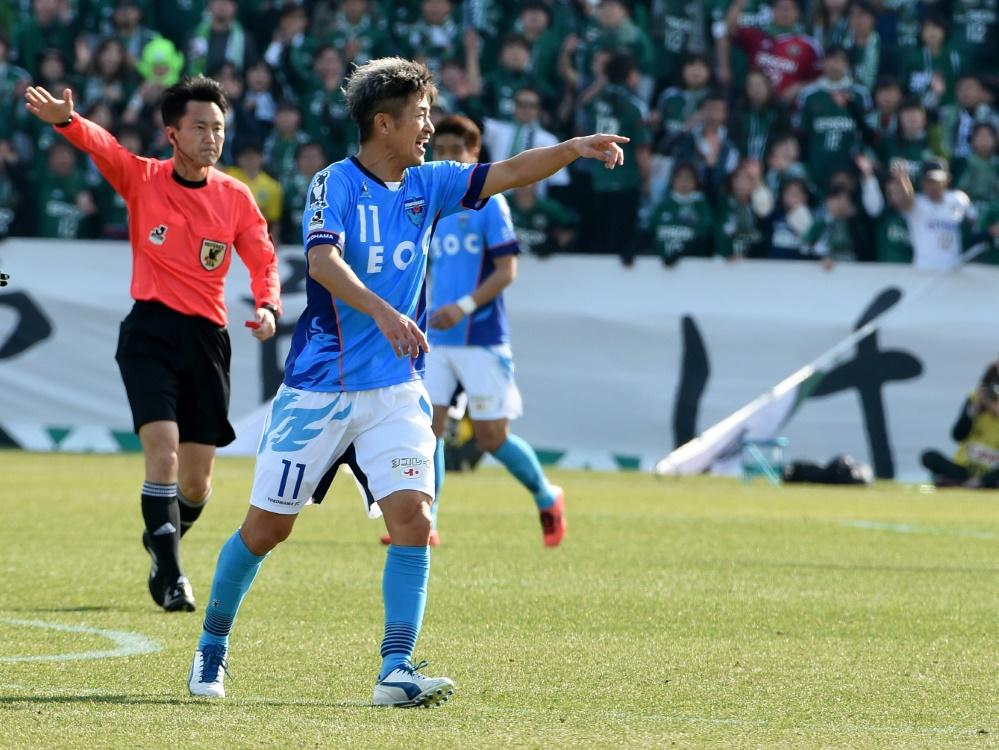 Geht in seine 34. Profisaison: Kazuyoshi Miura