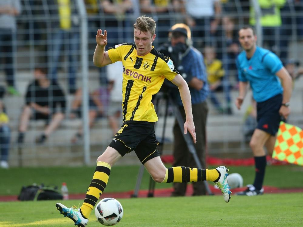 Sören Dieckmann unterschreibt einen Vertrag bis 2021