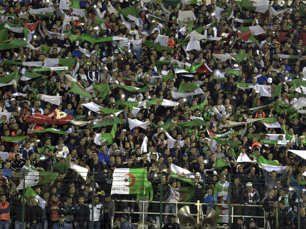 Im algerischen Fußball kommt es immer wieder zu Randalen