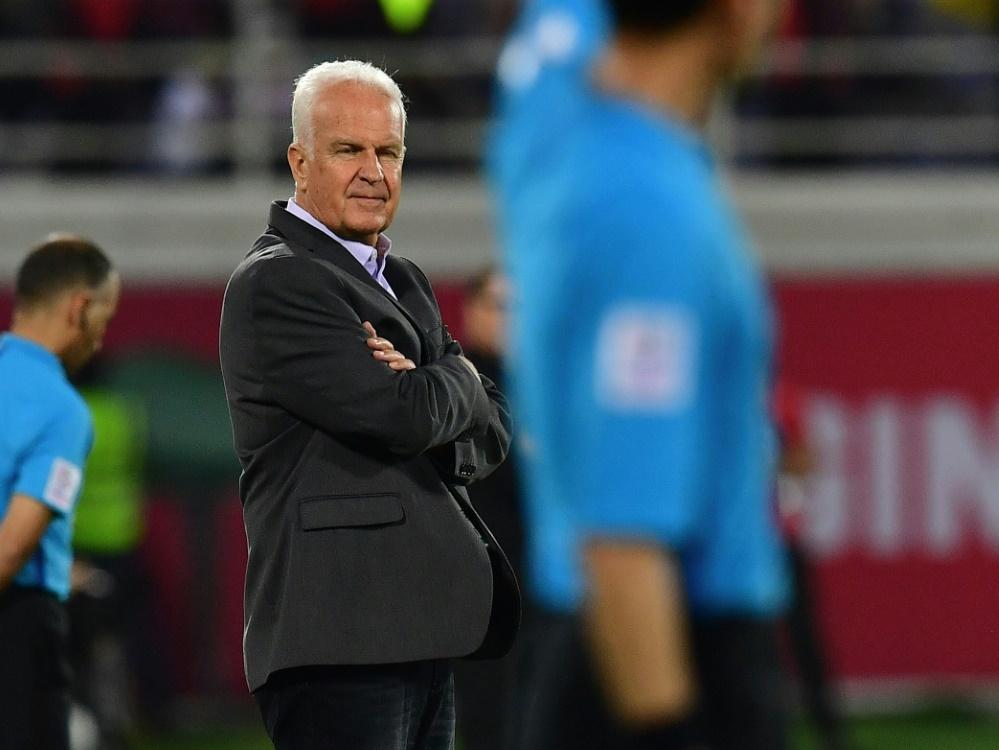 Stange ist nicht mehr Nationaltrainer Syriens