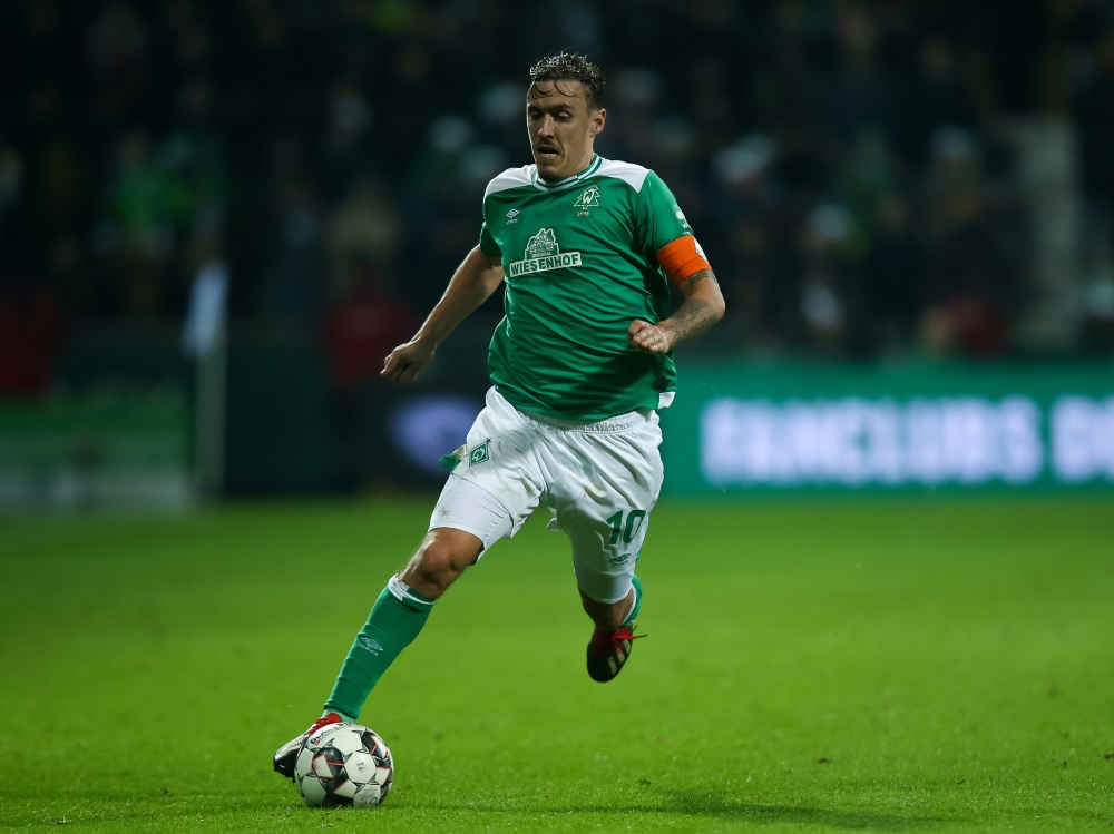 Max Kruse erzielte beide Tore für Werder