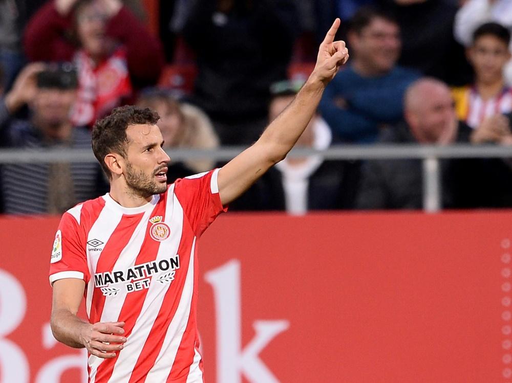 Cristhian Stuani und Girona bezwingen Atletico Madrid