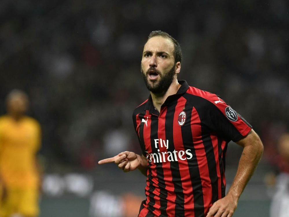 Kehrt AC Mailand wohl den Rücken: Gonzalo Higuain