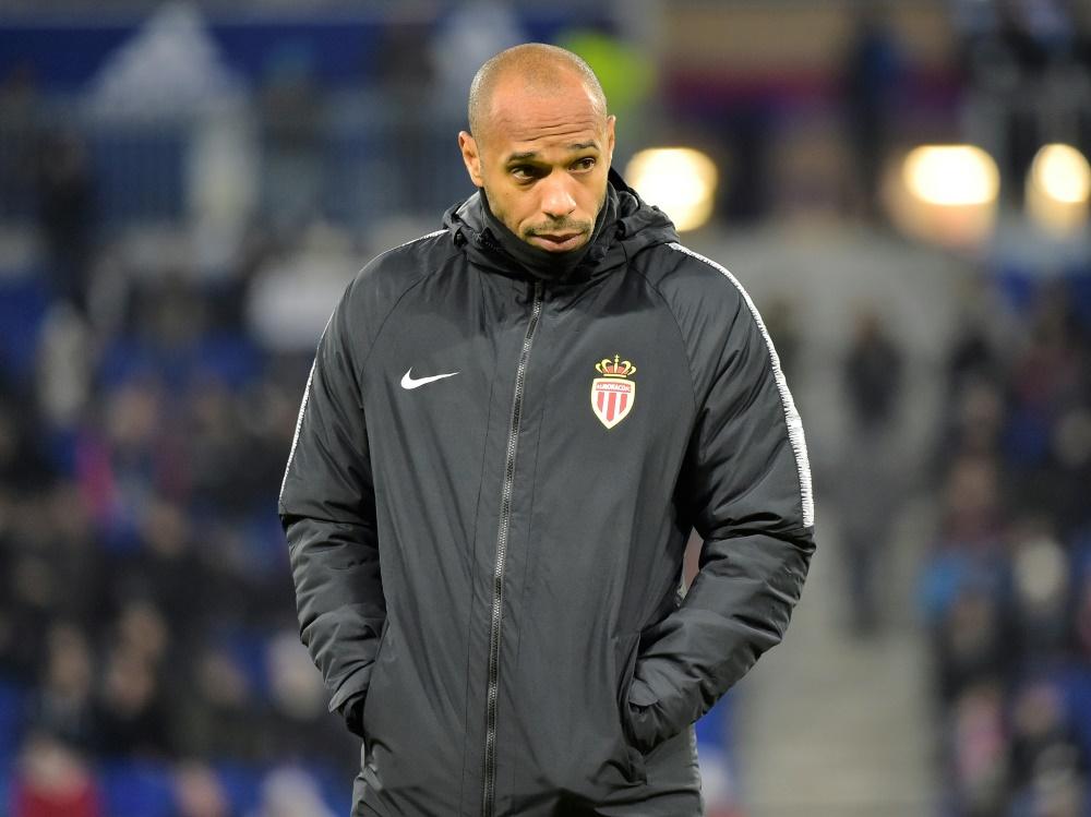 AS Monaco trennt sich von Trainer Thierry Henry