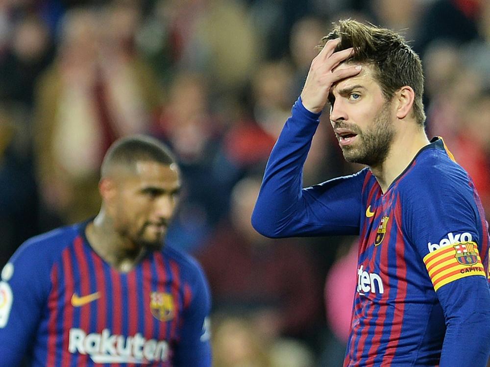 Barcelona unterliegt beim Debüt von Boateng (l.)