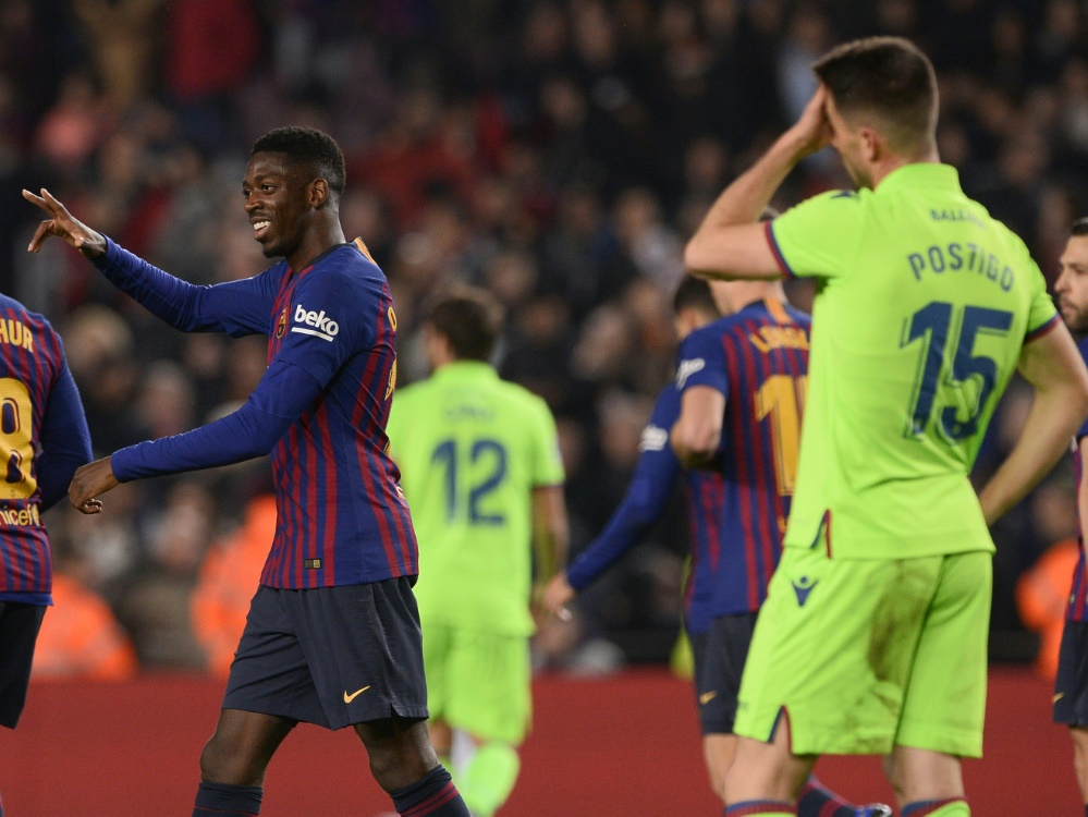 Levante schied nach dem 0:3 im Rückspiel aus