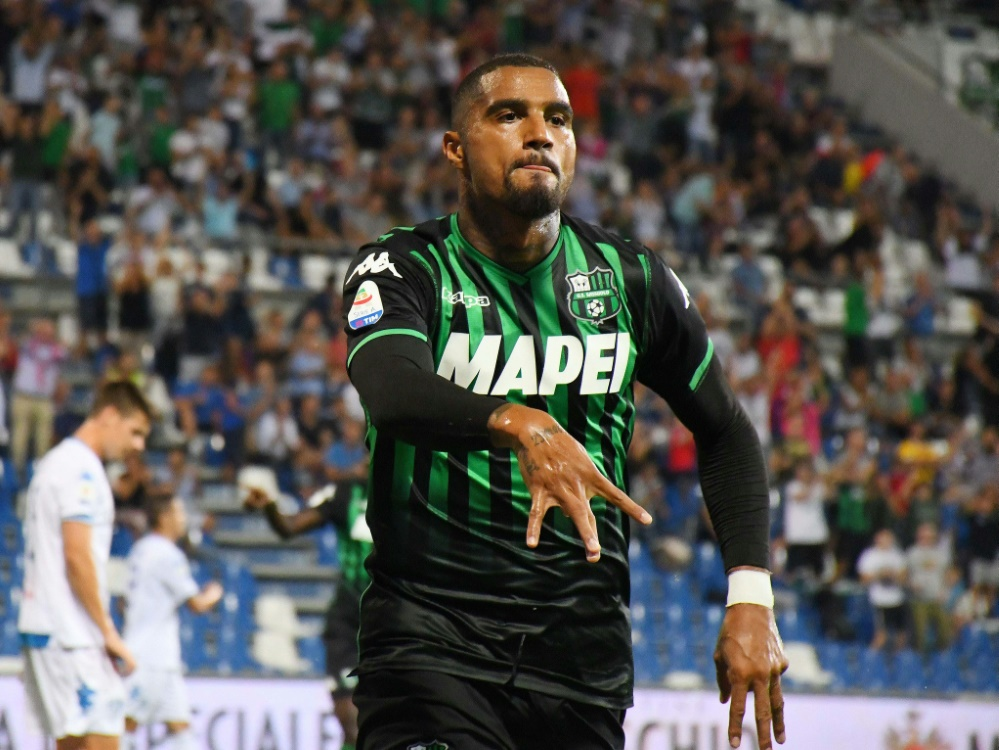 Seit dem Sommer in Sassuolo: Kevin-Prince Boateng