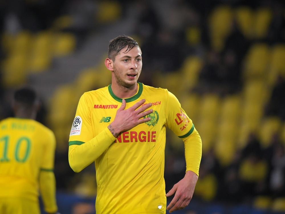 Traf in 19 Spielen zwölfmal für Nantes: Emiliano Sala
