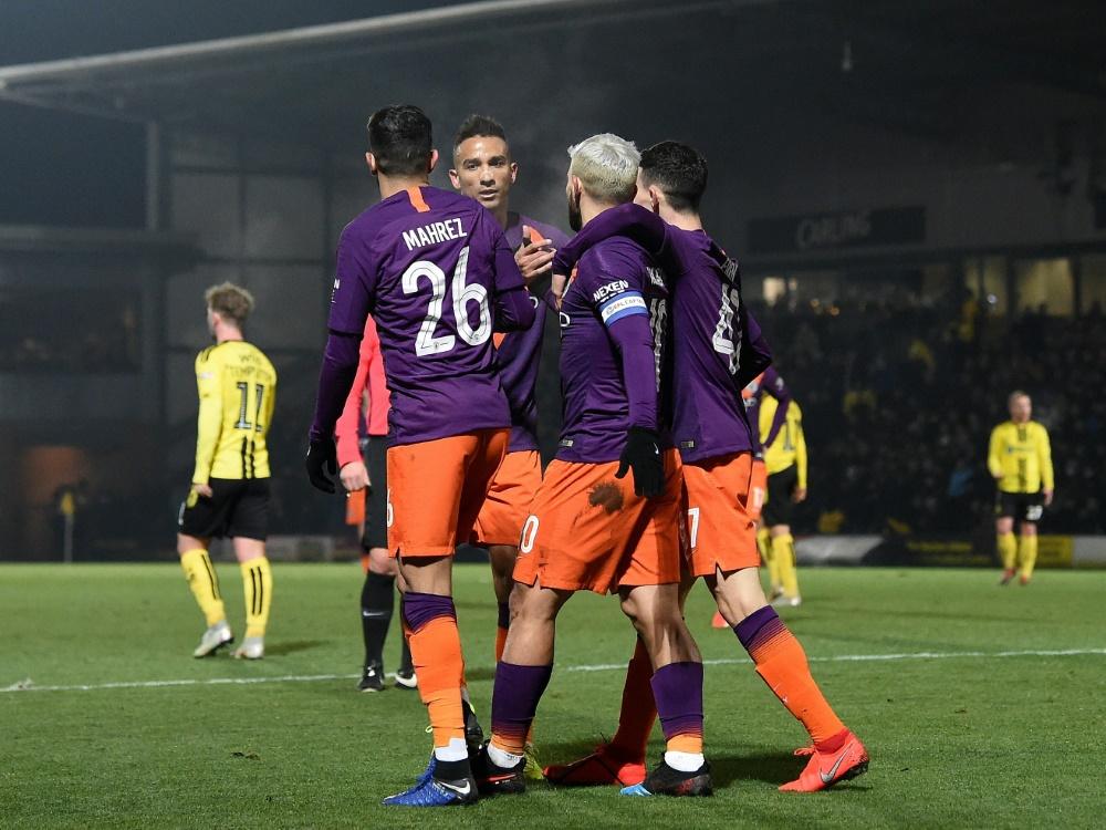 Manchester City zieht in das Finale des Ligapokals ein