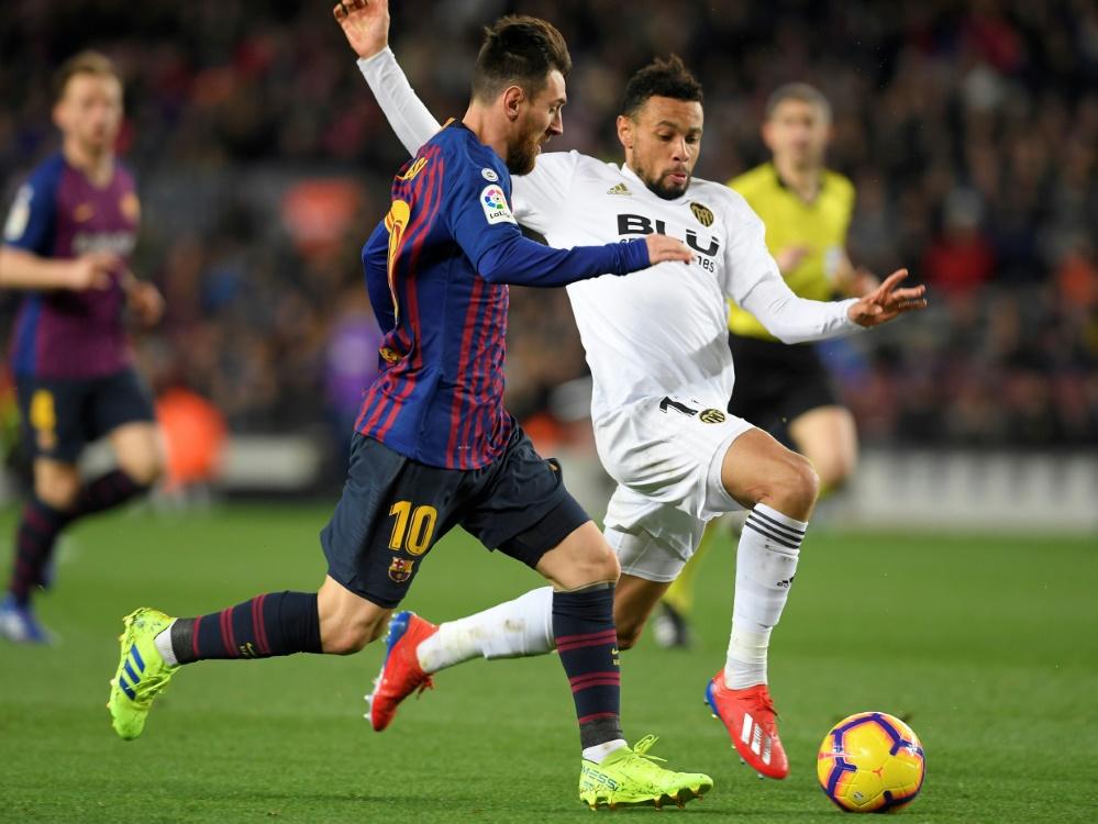 Lionel Messi trifft gegen Valencia doppelt