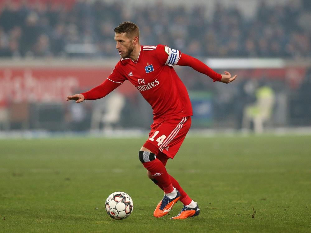 Machte bisher 17 Zweitligaspiele für den HSV: Aaron Hunt