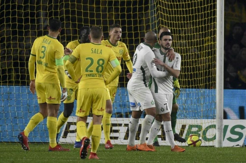 Die Spieler des FC Nantes gedenken Emiliano Sala