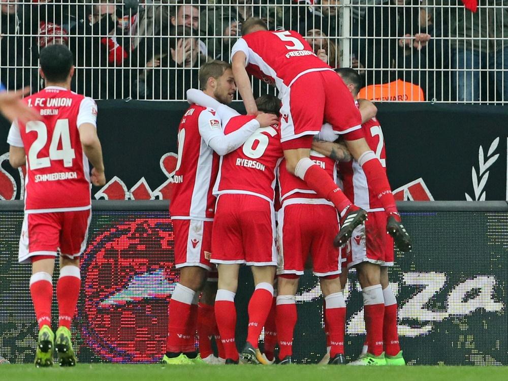 Union siegt und rückt an den 1. FC Köln heran