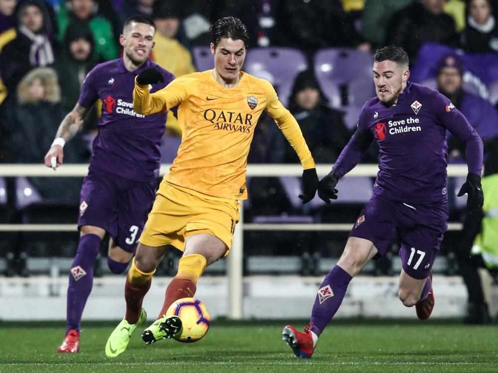 Pokal-Klatsche: Rom geht gegen den AC Florenz unter