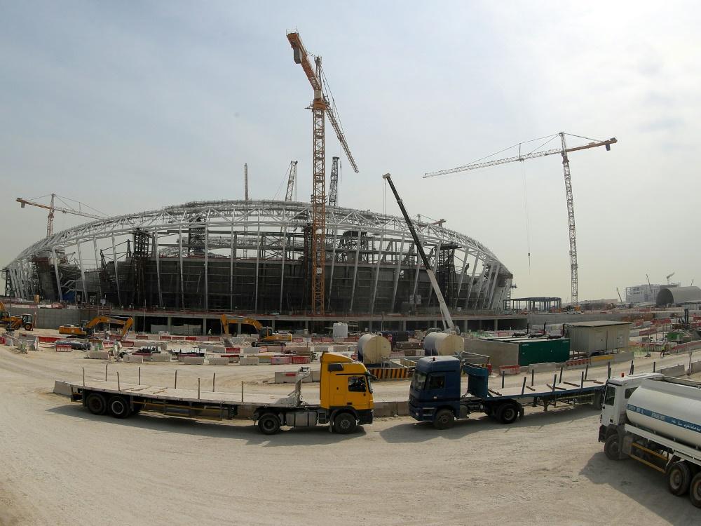 Katar wehrt sich gegen Kritik an Arbeitsbedingungen