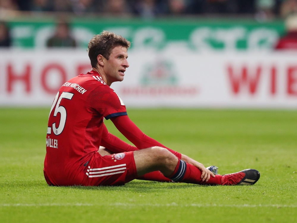 Müller bleibt für die Spiele gegen Liverpool gesperrt
