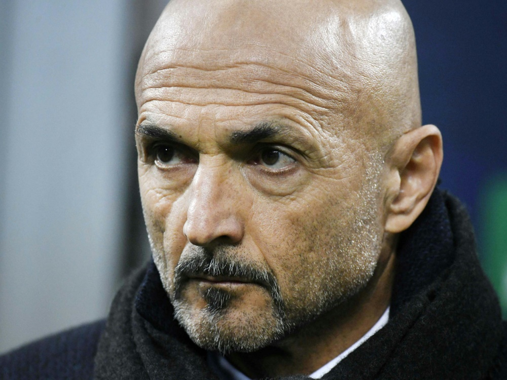 Luciano Spalletti und Inter Mailand festigen Platz drei