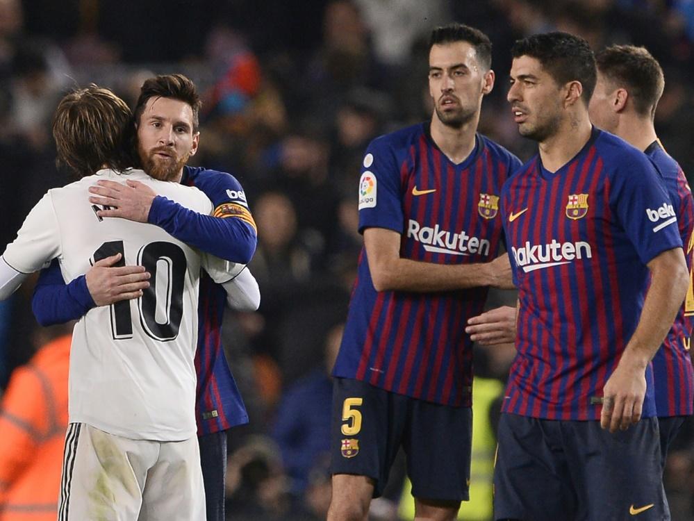 Zwei Tore, kein Sieger: Barca und Real trennen sich 1:1