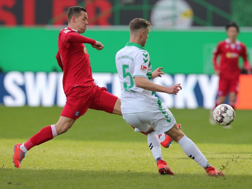 Fürth nimmt drei Punkte aus dem Spiel gegen Duisburg mit