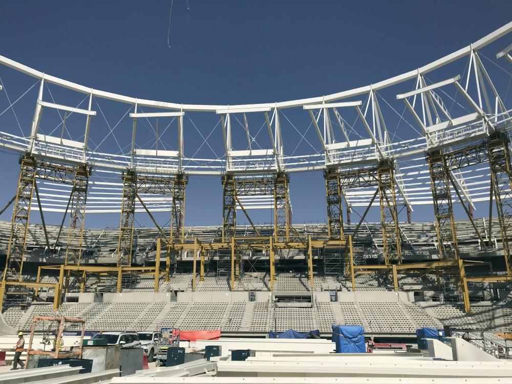 Erneute Kritik an Katars-WM-Baustellen