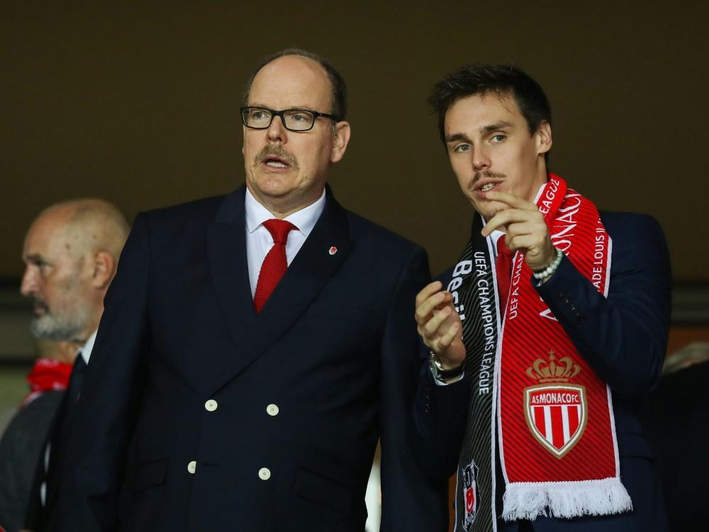 Louis Ducruet (r.) neuer Assistent des Vizepräsidenten