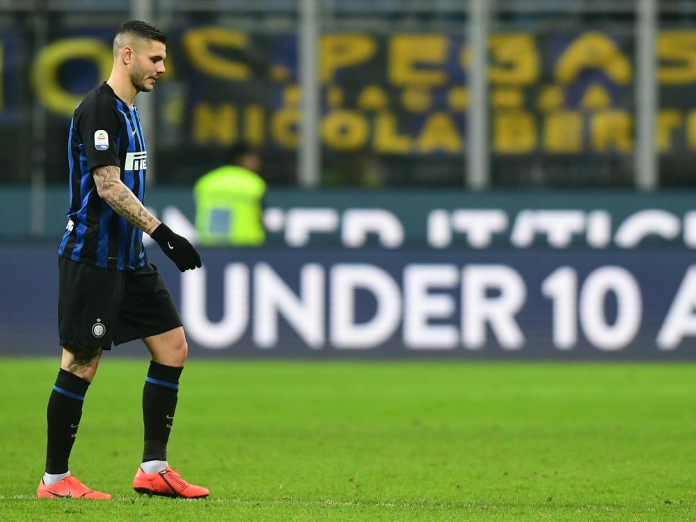 Icardi verweigert die Europa-League-Reise nach Wien