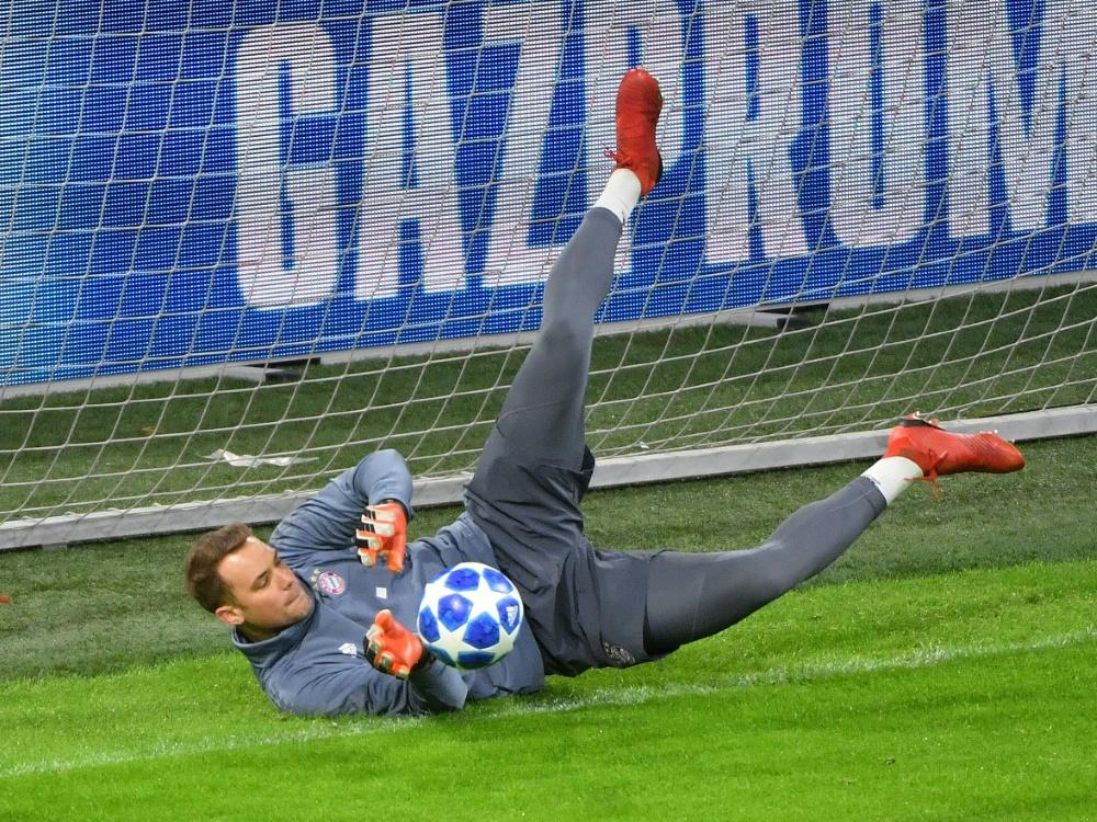 Manuel Neuer glaubt an Einsatz gegen den FC Liverpool