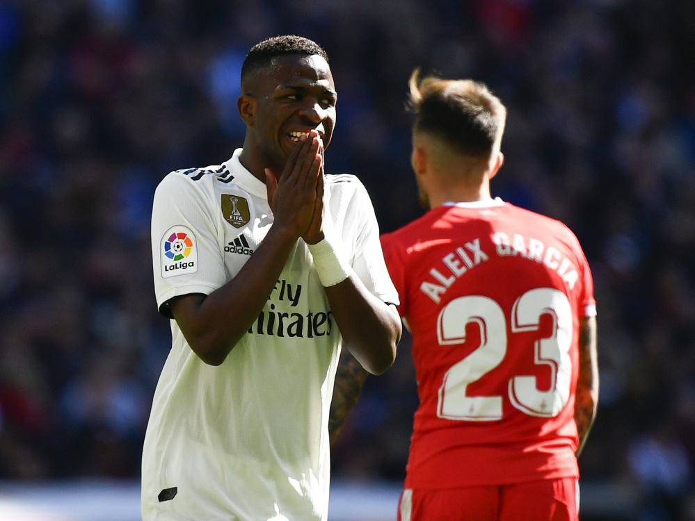 Patzte mit Real Madrid gegen Girona: Vinicius Junior