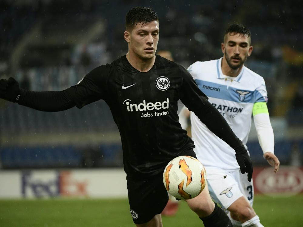 Weckt die Begehrlichkeiten von Topklubs: Luka Jovic (l.)