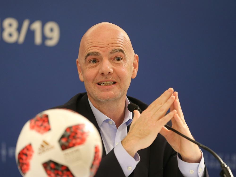 FIFA-Boss Infantino stößt bei der UEFA auf Gegenwind