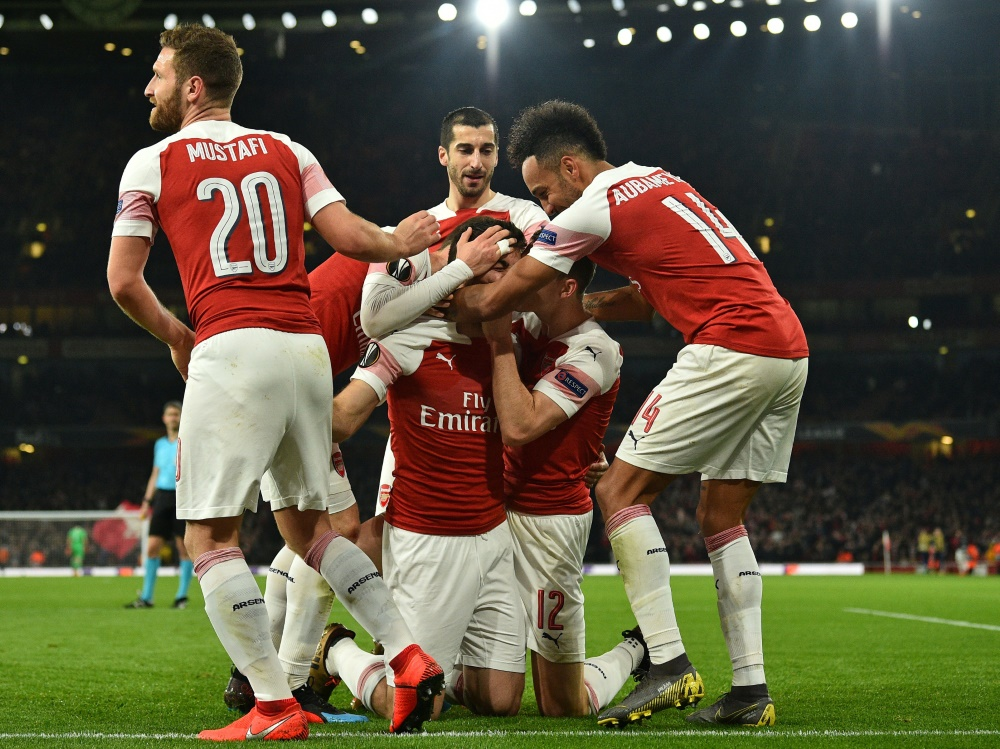 Arsenal durch 3:0-Sieg im Rückspiel im Achtelfinale