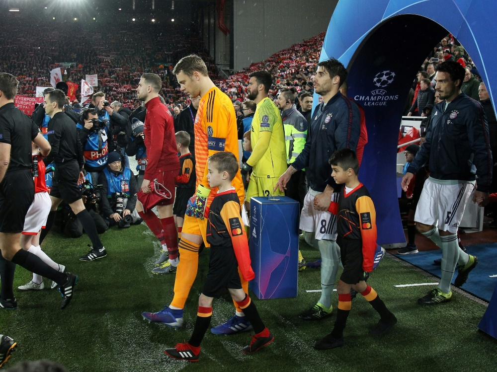 Bayern Liverpool Detail: Sky Mit Top-Quote Bei Liverpool-Bayern