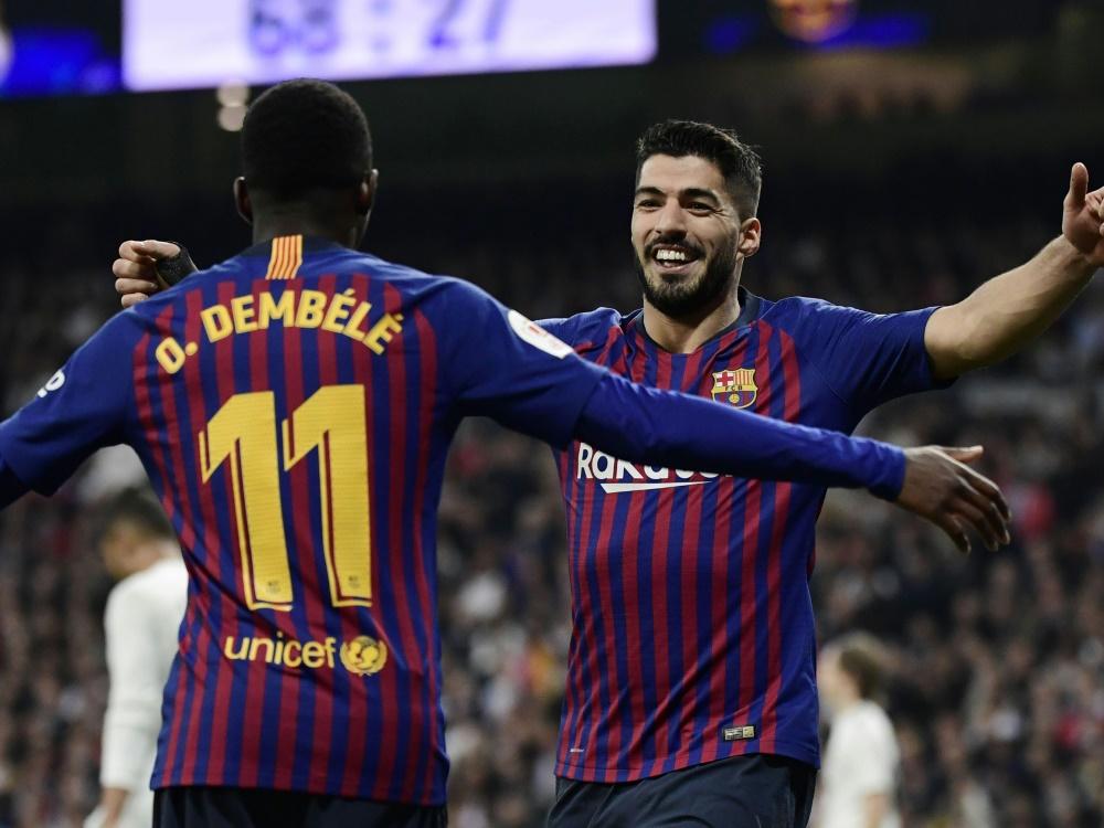 Barca feiert 3:0-Sieg im Clasico und Finaleinzug