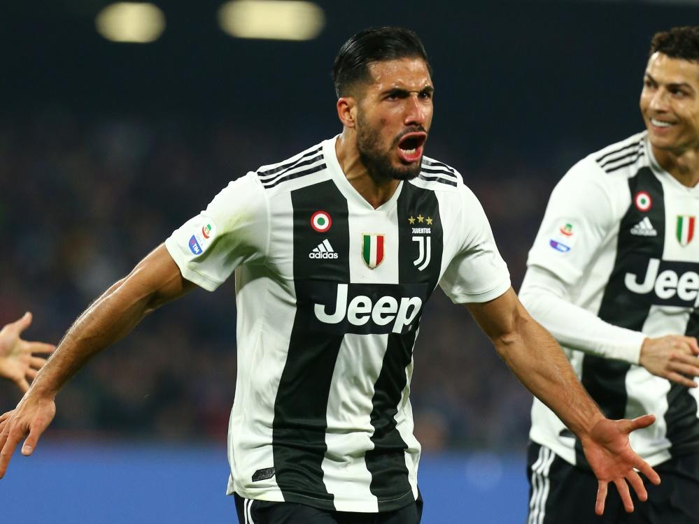 Traf zum zwischenzeitlichen 2:0 für Juventus: Emre Can