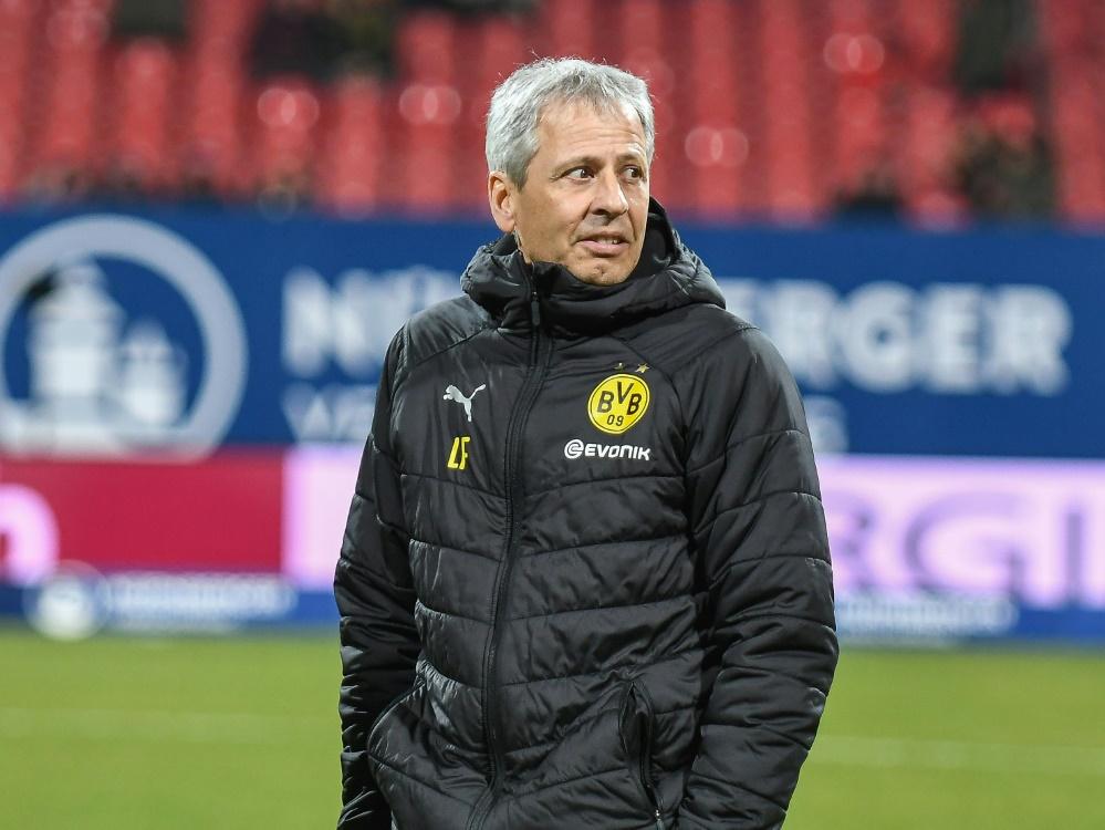 Ist seit dieser Saison Trainer beim BVB: Lucien Favre
