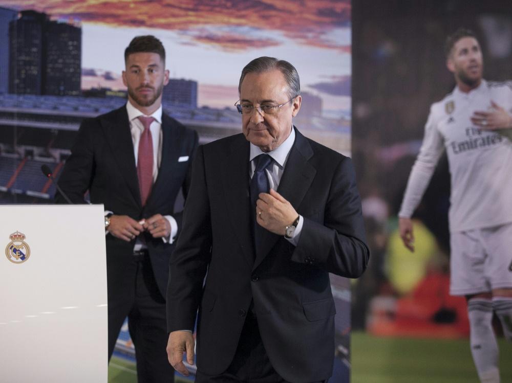 Zwischen Ramos (l.) und Perez kam es wohl zum Streit