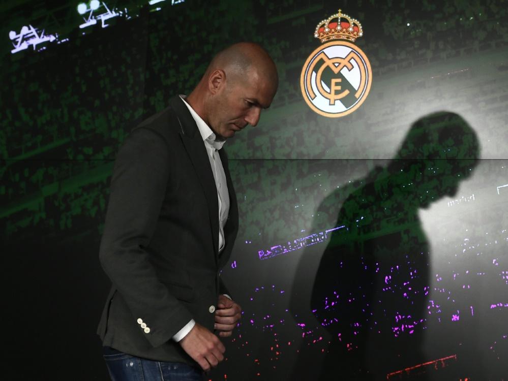 Zinedine Zidane als
