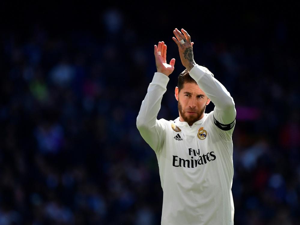 Sergio Ramos spricht über die verkorkste Saison