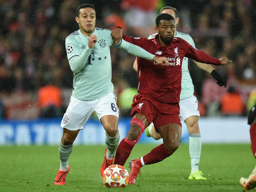 FC Bayern und Liverpool im Vergleich vor dem Rückspiel