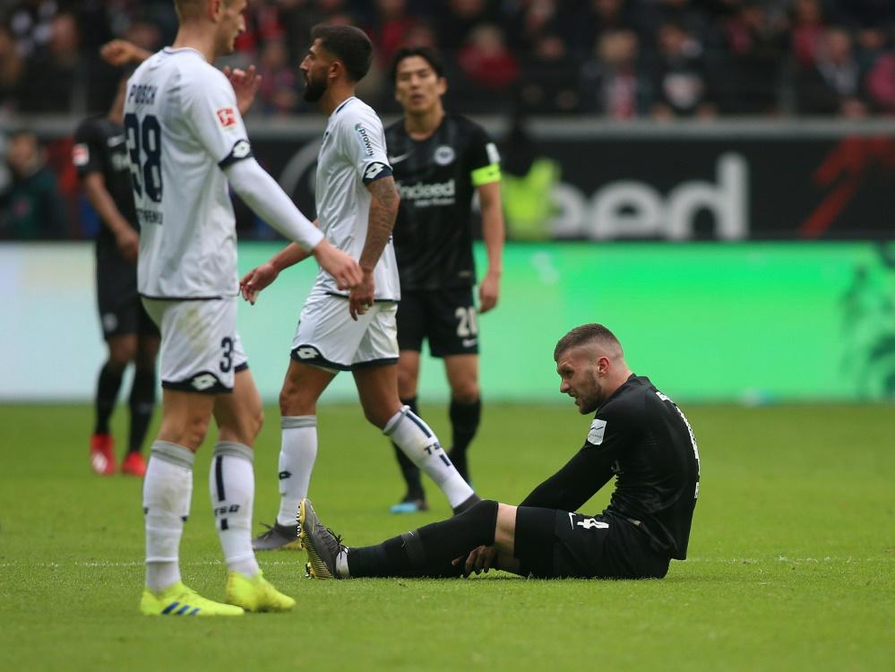 Rebic fehlt auch im Rückspiel gegen Inter Mailand