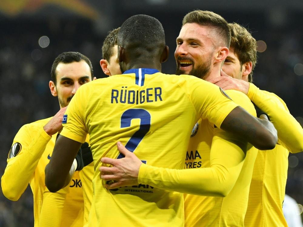 Europa League  Chelsea mit Rüdiger souverän im Viertelfinale dd5d559a16e