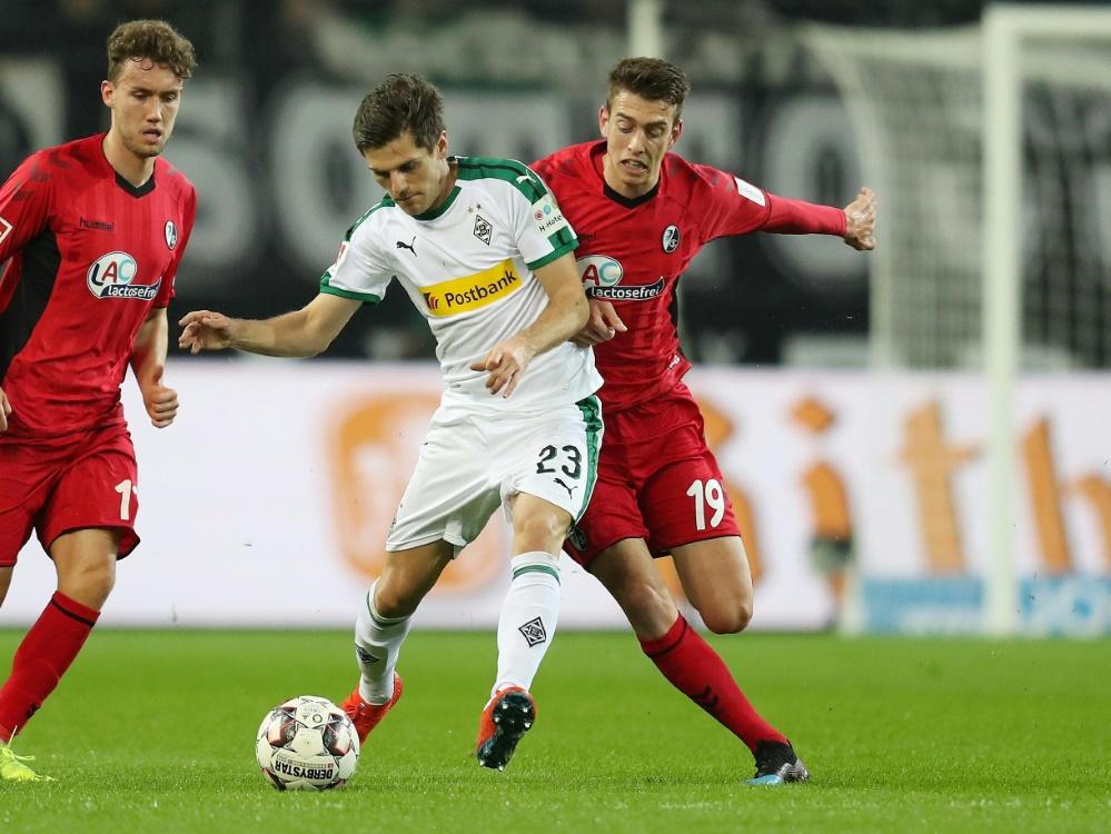 Freiburg und Gladbach trennen sich unentschieden
