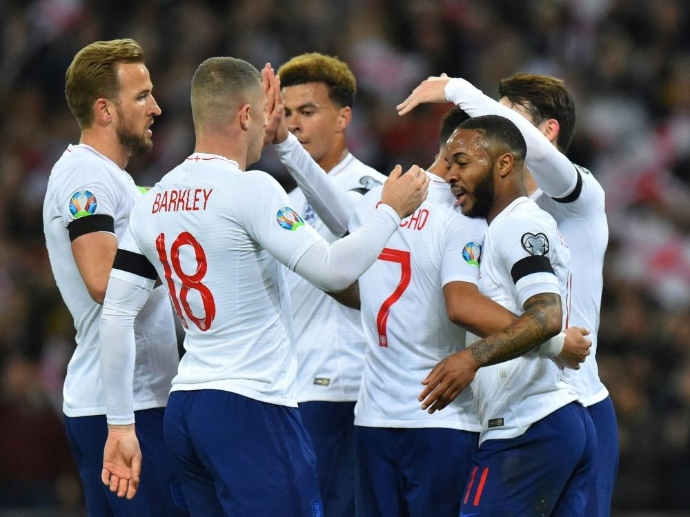 England freut sich über einen 5:0-Sieg gegen Tschechien