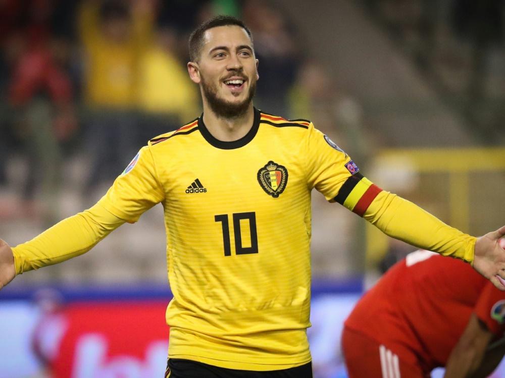 Eden Hazard läuft wohl künftig für Real Madrid auf