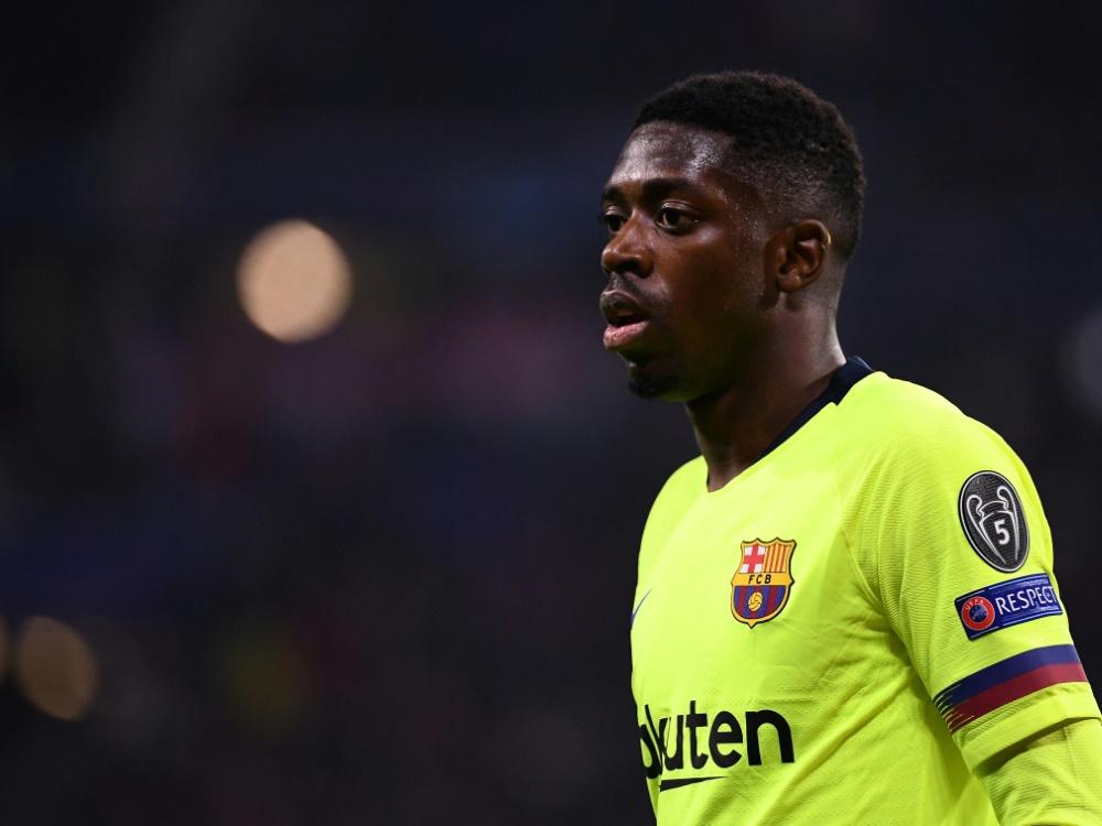 FC Barcelona: Dembele verpasst auch die nächsten Spiele
