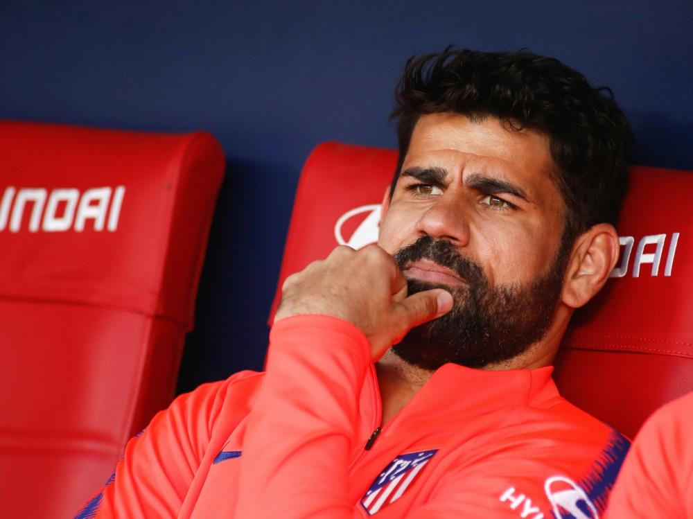 Für Diego Costa ist die Saison damit vorzeitig beendet