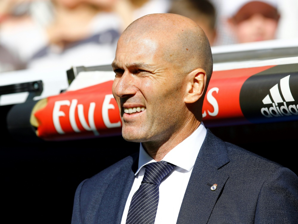 Zählt auf Toni Kroos: Trainer Zinedine Zidane