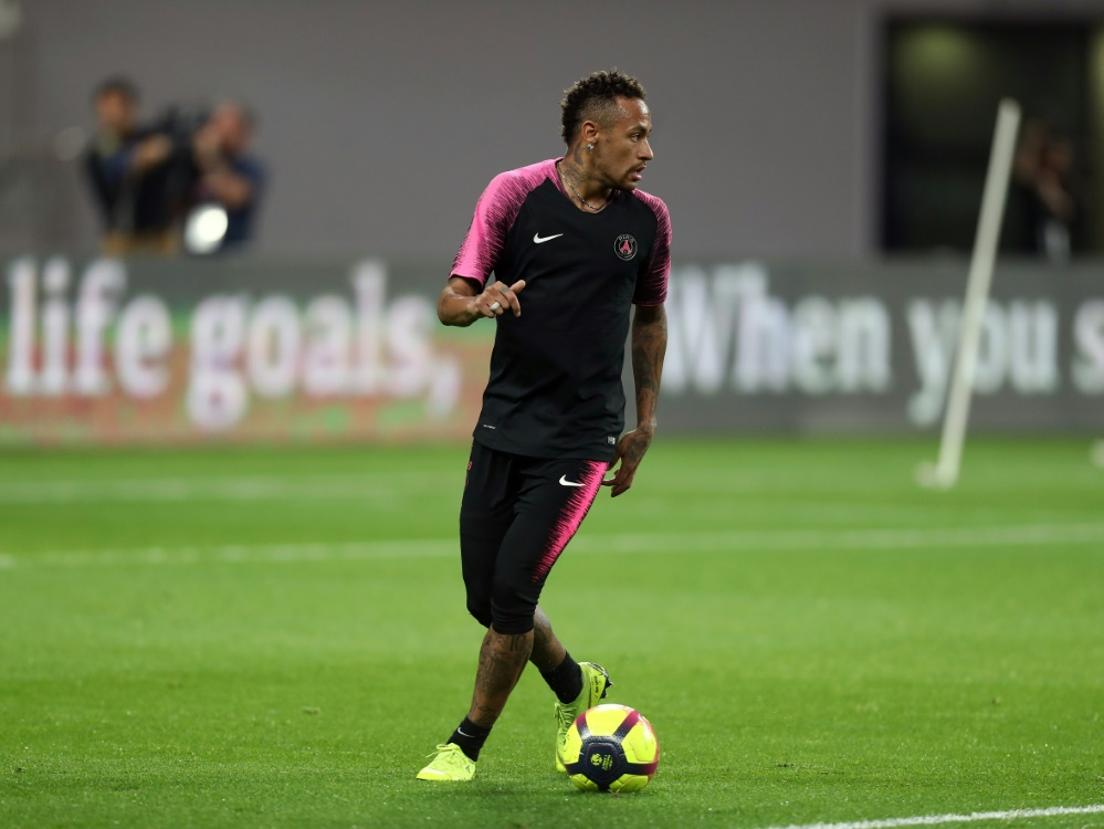 Neymar nach langer Verletzungspause zurück im Training